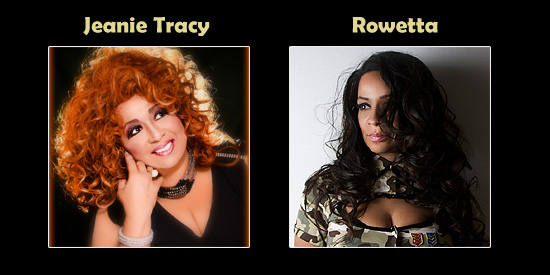 Jeanie Tracy and Rowetta - Southern Decadence BOURBON STREET EXTRAVAGANZA