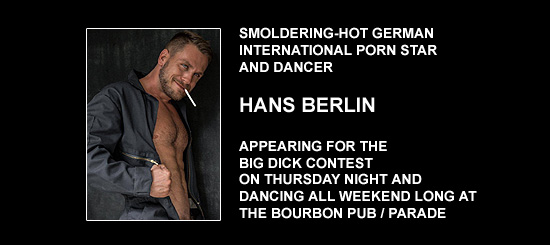 Hans Berlin at Southern Decadence 2014