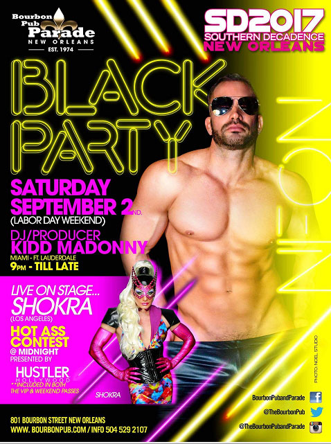 THE BLACK PARTY at Southern Decadence 2017